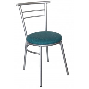 "Ryan Side Chair Steel Frame ""Green"""