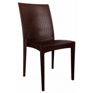 "Bronte Side Chair ""Chocolate"""