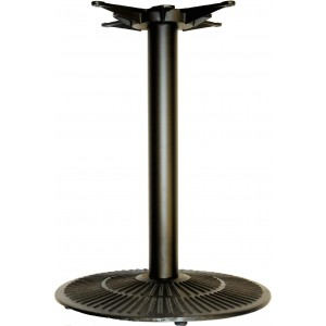 Dome Large Black Base with Large Cross Holder