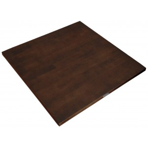 900mm, Solid Rubberwood Table Top, Square, Wenge
