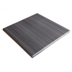700mm, Heatproof Table Top, Square, Onyx Grey