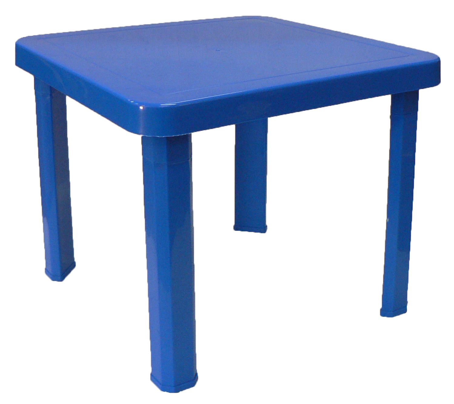 Childrens Plastic Table - Blue