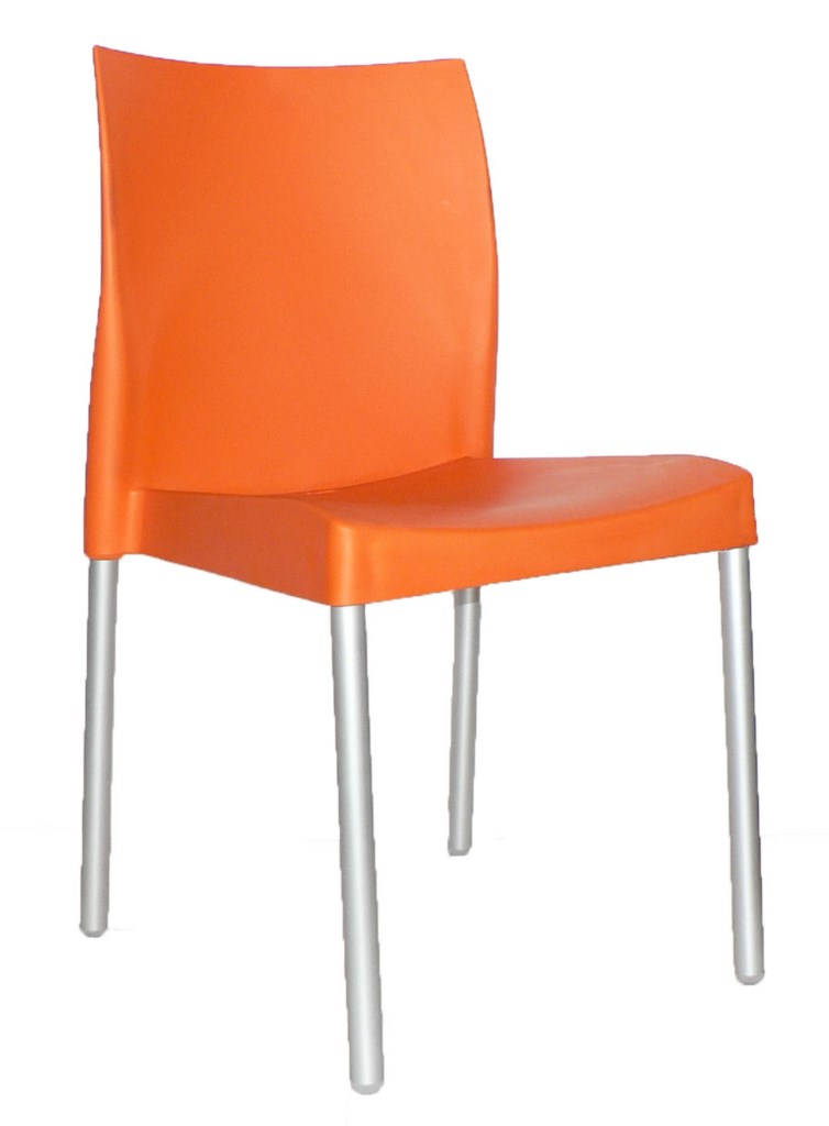 Leo Chair Orange