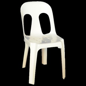 Pipee Slotted Chair - 7 Colours