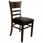 . Roxy Dining Chair - Ever Chocolate Walnut