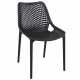. Air Side Chair - Black
