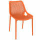 . Air Side Chair - Orange