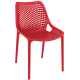 . Air Side Chair - Red