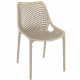. Air Side Chair - Taupe