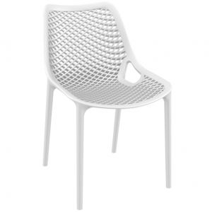 . Air Side Chair - White