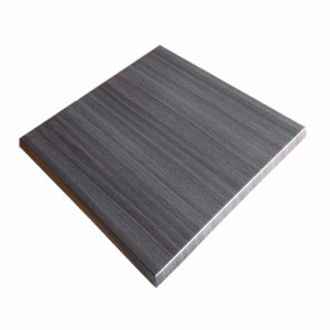 600mm, Heatproof Table Top, Square, Onyx Grey