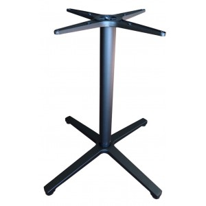 Saturn 4 Way Aluminium Table Base - Black