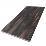 600x1200mm, Melamine, Rectangular, Chestnut