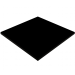 700mm, Gentas Heatproof Table Top, Square, Black