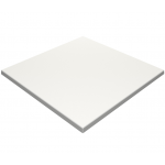 600mm, Gentas Heatproof Table Top, Square, White