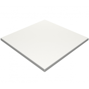 700mm, Gentas Heatproof Table Top, Square, White