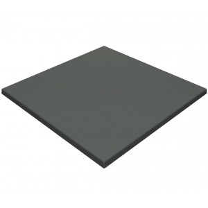 700mm, Gentas Heatproof Table Top, Square, Anthracite