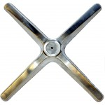 Replacement Aluminium Feet (Flat)