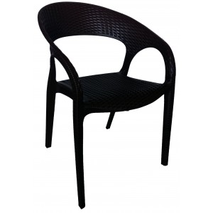 Bali Arm Chair - Black