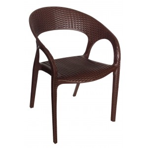 Bali Arm Chair - Choc