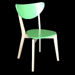 .Alisha Chair Light Green