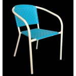".Ivy Stackable Arm Chair ""Blue"""