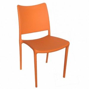".PagoPago Stackable Side Chair ""Orange"""