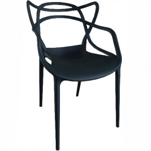 ".Spaghetti Arm Chair ""Black"""