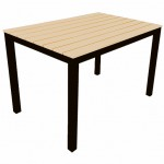 Syn Teak Table 1200X800mm -Yellow