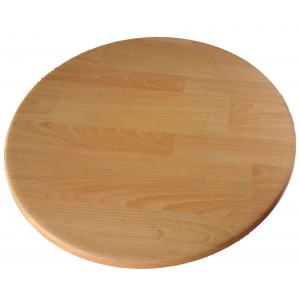 700mm, Heatproof Table Top, Round, Timber Effect