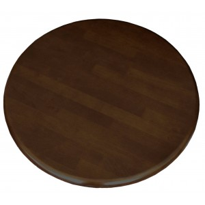 700mm, Solid Rubberwood Table Top, Round, Wenge