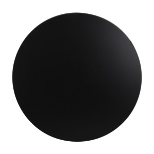 600mm, Heatproof Table Top, Round, Black