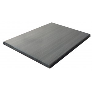 600X800mm, Heatproof Table Top, Retangular, Onyx Grey