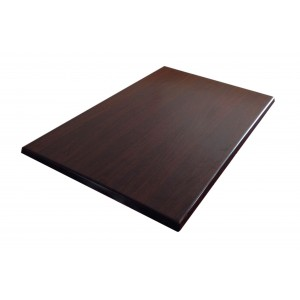 600X800mm, Heatproof Table Top, Retangular, Walnut