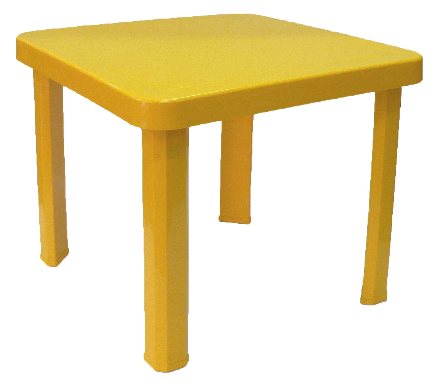 Childrens Plastic Table - Yellow