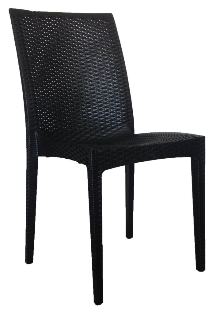 Bronte Side Chair  Black