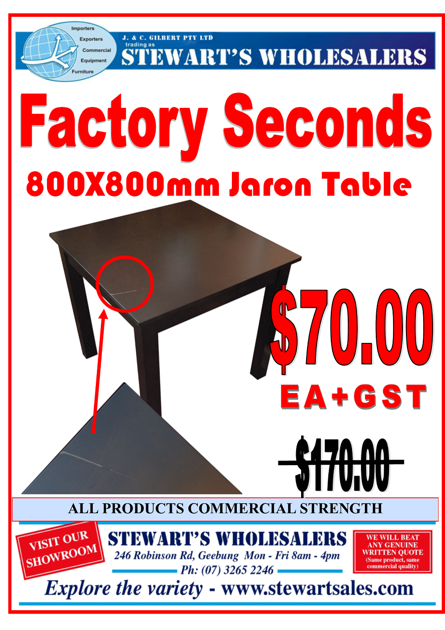 Jaron Factory Seconds