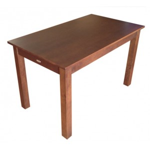 Jaron Rubberwood Table 1200 x 700 mm - Wenge