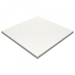 600mm Square SM France Duratop - White