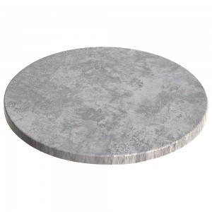 800mm Round SM France Duratop - Concrete